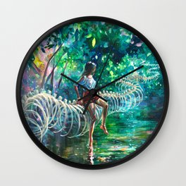 Dopamine Jungle Wall Clock