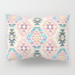 Woven Textured Pastel Kilim Pattern Pillow Sham