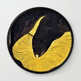 Koloman Moser - Loie Fuller in the Dance, The Archangel - Digital Remastered Edition Wall Clock