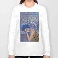 window Long Sleeve T-shirts featuring Window by doviArt