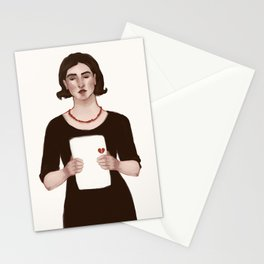 Secret Heartbreaks Stationery Cards