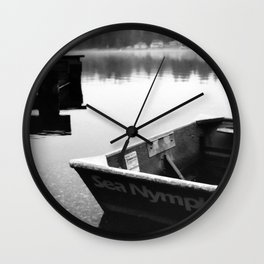 Mason Lake: SeaNymph Wall Clock