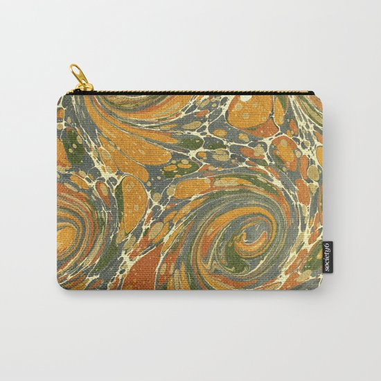 Old Marbled Paper 03 Carry-All Pouch