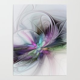 New Life, Abstract Fractals Art Poster