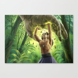 Strength of the earth Canvas Print