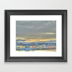 Waterford City Framed Art Print