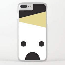 Peek-a-Boo Bear with Golden Hat Clear iPhone Case