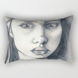 Pencil Drawing Rectangular Pillow