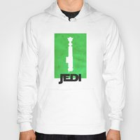 jedi Hoodies featuring Vintage Jedi by Fletcher McKinney
