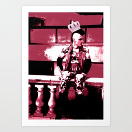 Rock Star Art Print