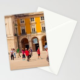 Lisbon Place architecture Stationery Cards