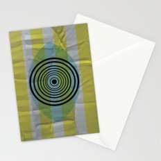 Auge gebumst Stationery Cards