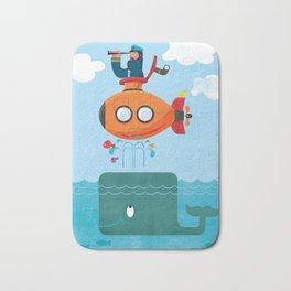 Whale Ahoy Bath Mat