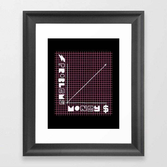Biggie Was Right Framed Art Print