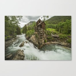 Crystal Mill Canvas Print