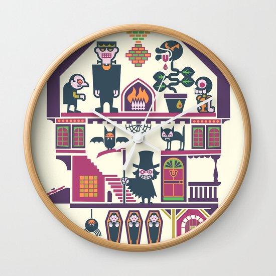 House Of Freaks Wall Clock
