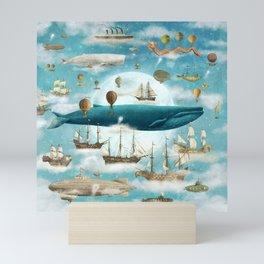 Ocean Meets Sky - option Mini Art Print