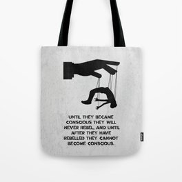George Orwell - 1984 - Rebellion Tote Bag