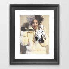 Cruella Deville-Disney Villains Series Framed Art Print