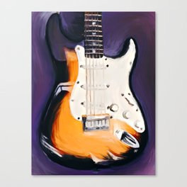 Stringed Instrument Canvas Print