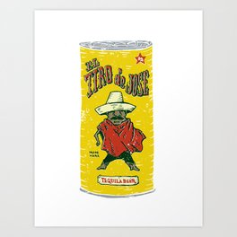 El Tiro de Jose Art Print