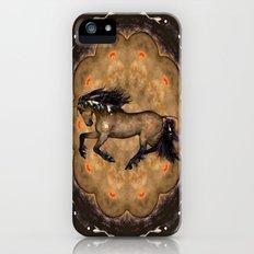 HORSE - Cherokee iPhone (5, 5s) Slim Case