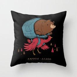 kazooie banjo Throw Pillow