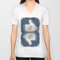 kim sy ok V-neck T-shirts featuring ok by rino pacilio