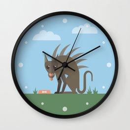 Chupacabra Wall Clock