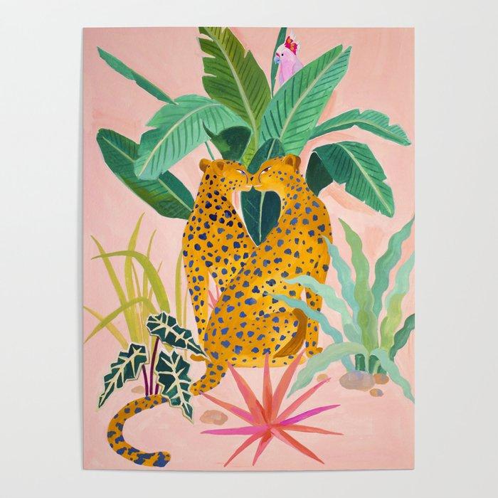 Cheetah Crush Poster
