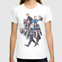 suits T-shirts featuring The suits by Sodam-art