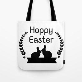 Hoppy Easter Bunny Funny Kids Women Men Tote Bag