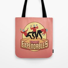 Redshirt Expendables Tote Bag