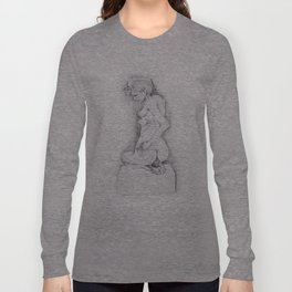 life drawing woman Long Sleeve T-shirt