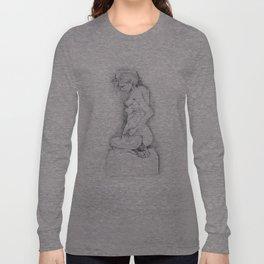 life drawing woman Long Sleeve T-shirt