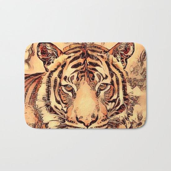 Animal ArtStudio- amazing Tiger Bath Mat