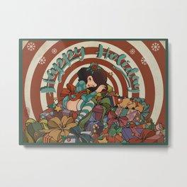 Giftmas Metal Print