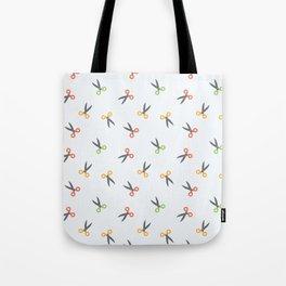 Scissors colored Tote Bag