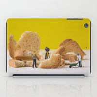 work hard iPad Cases featuring Hard Work by Encolhi as Pessoas