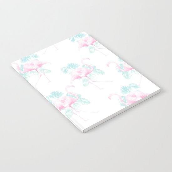 Tropical Flamingos Notebook