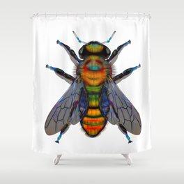 Summer Bee Shower Curtain