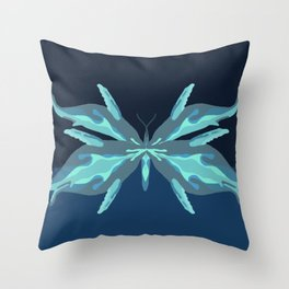 whalefly Throw Pillow