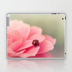 Ladybird on flower Laptop & iPad Skin