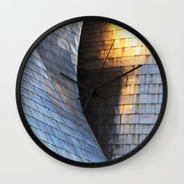 Scales of light Wall Clock