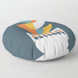 Geometric Plant 02 Floor Pillow