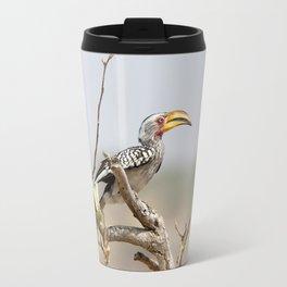 Yellow billed hornbill Travel Mug