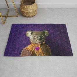 Portrait of Prince Kirkwood Koala Rug