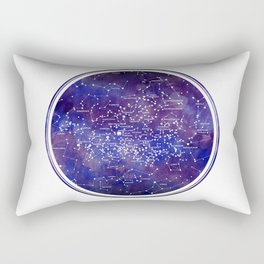 Star Map IV Rectangular Pillow