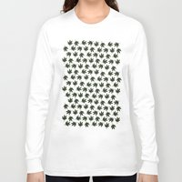 cannabis Long Sleeve T-shirts featuring Cannabis by WeedPornDaily