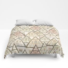 Pattern Houses Comforters